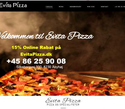 2016-05-09 15_31_33-Evita Pizza Pizza i Aarhus - Pizza Restaurant - Online Bestilling_Forside